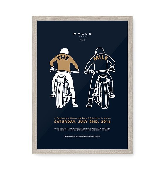 Malle_Mile_2016_Poster_Framed