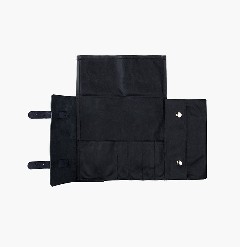 Douglas Tool Roll Black Malle London