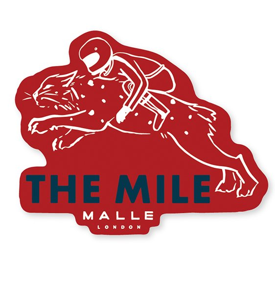 The Mile Sticker Lynx