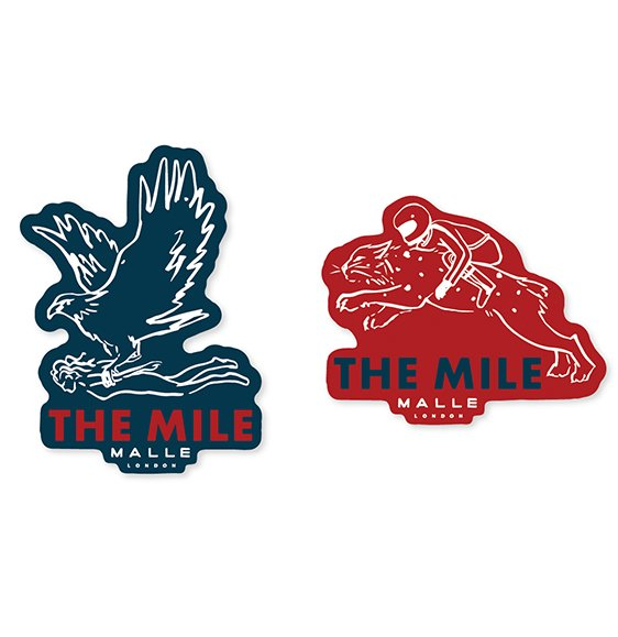 The Mile Stickers