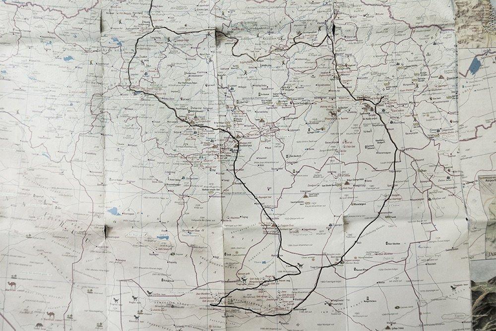 mongolia-route