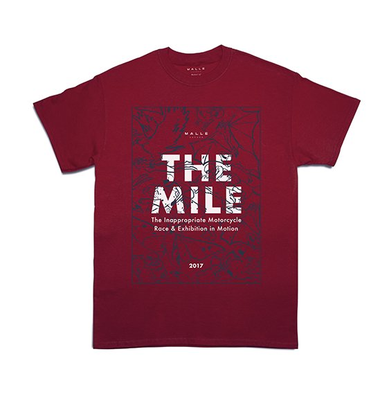 Malle_Mile_2017_Red_Tee_Front