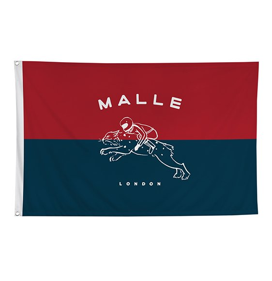 The Mile Race Flag Lynx