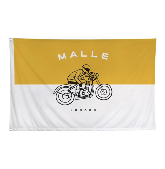 The Mile Race Flags-Yellow