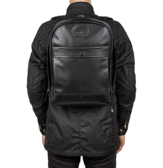 Malle London Leather John Backpack 12