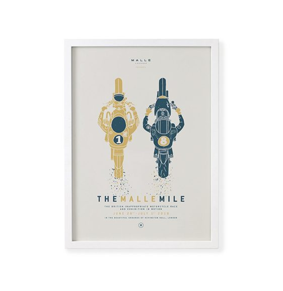 The Malle Mile Poster 2018 Yel