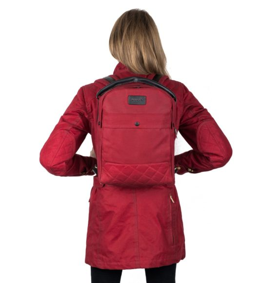 Malle Bonnie Backpack Red Model2