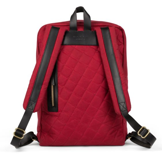 Malle Edward Backpack Red2