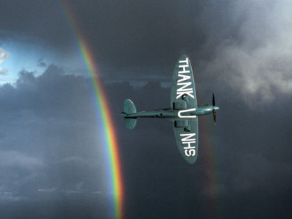 'The NHS Thank You Spitfire' story